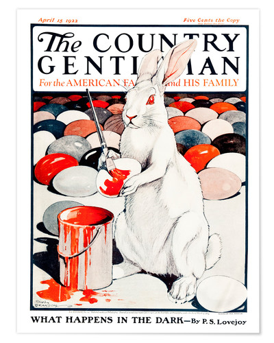 Póster Premium Cover of Country (White Rabbit)