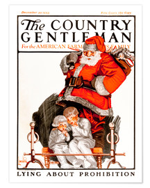 Póster Premium Cover of Country (Santa Claus)