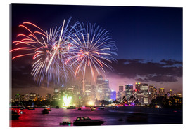Quadro em acrílico  New Year's Eve in Sydney - Matteo Colombo