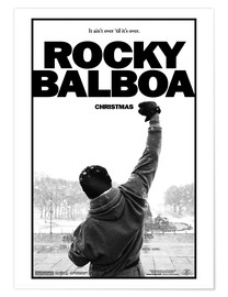 Póster Premium  Rocky Balboa - Entertainment Collection