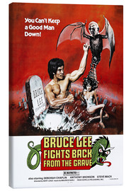 Quadro em tela  Bruce Lee Fights Back from the Grave - Entertainment Collection