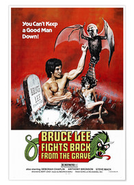 Póster Premium  Bruce Lee Fights Back from the Grave - Entertainment Collection