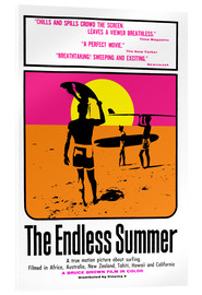 Quadro em acrílico  Alegria de Verão - The Endless Summer - Entertainment Collection