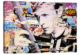 Quadro em tela  David Bowie, and there is nothing I can do - Michiel Folkers