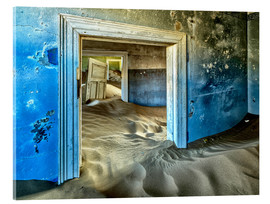 Quadro em acrílico  Sand in the premises of an abandoned house - Robert Postma