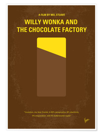 Póster Premium Willy Wonka And The Chocolate Factory