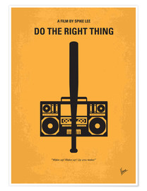 Póster Premium Do The Right Thing