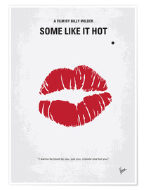 Póster Premium  Some Like It Hot - chungkong