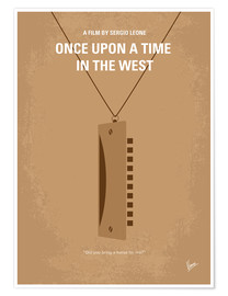 Póster Premium Once Upon A Time In The West