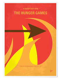 Póster Premium The Hunger Games