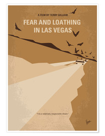 Póster Premium Fear And Loathing In Las Vegas