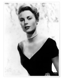 Póster Premium  Grace Kelly in 1956