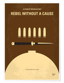 Póster Premium Rebel Without A Cause