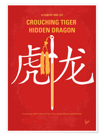 Póster Premium Crouching Tiger Hidden Dragon