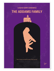 Póster Premium The Addams Family