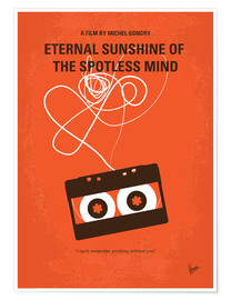 Póster Premium  Eternal Sunshine Of The Spotless Mind - O Despertar da Mente (inglês) - chungkong