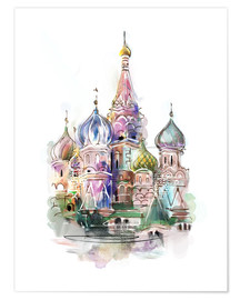 Póster Premium  St. Basil's Cathedral