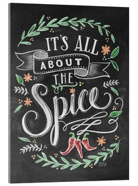 Quadro em acrílico  It's all about the Spice - Lily & Val