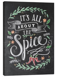Quadro em tela  It's all about the Spice - Lily & Val