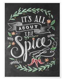 Póster Premium  It's all about the Spice - Lily & Val
