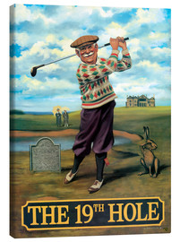 Quadro em tela  The 19th Hole - Peter Green's Pub Signs Collection