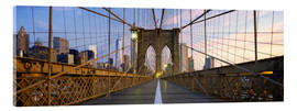 Quadro em acrílico  Brooklyn Bridge in Manhattan, New York