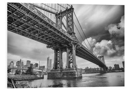 Quadro em PVC  The Manhattan Bridge
