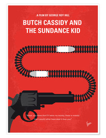 Póster Premium Butch Cassidy And The Sundance Kid
