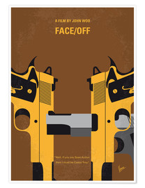 Póster Premium Face/Off