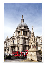 Póster Premium Cathedral in London