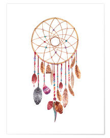 Póster Premium  Dream catcher - Nory Glory Prints