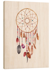 Quadro de madeira  Dream catcher - Nory Glory Prints