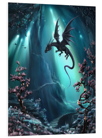 Quadro em PVC  The dragon caves of La Stilla - Susann H.