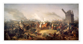 Póster Premium  The Battle of Nations, Leipzig 1813 - Peter von Hess