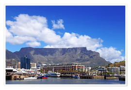 Póster Premium  Lovely Cape Town, South Africa - wiw