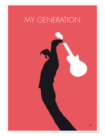 Póster Premium The Who, My Generation