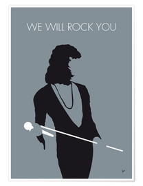 Póster Premium  Queen, We will rock you - chungkong