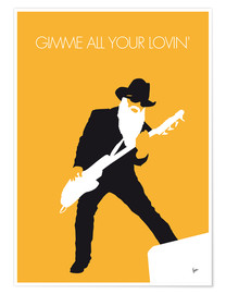 Póster Premium  ZZ Top, Gimme All Your Lovin' - chungkong