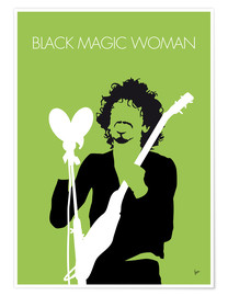 Póster Premium Santana - Black Magic Woman