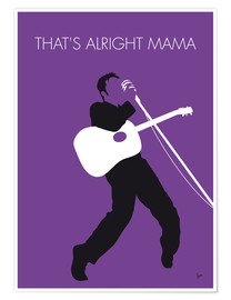 Póster Premium  Elvis - That's Alright Mama - chungkong