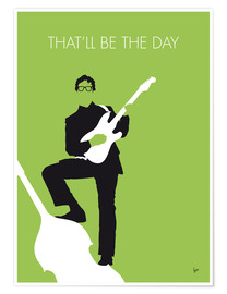 Póster Premium Buddy Holly - That'll Be The Day