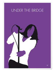 Póster Premium Red Hot Chilli Peppers - Under The Bridge