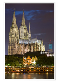 Póster Premium  cathedral of cologne - Dieterich Fotografie