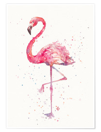 Póster Premium  Fancy Flamingo - Sillier Than Sally