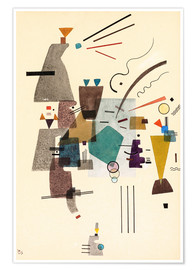 Póster Premium  warmed cold - Wassily Kandinsky