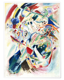 Póster Premium  Panel for Edwin R  Campbell No  4 - Wassily Kandinsky