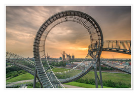 Póster Premium  Tiger & Turtle Magic Mountain Duisburg - Dennis Stracke