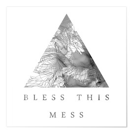 Póster Premium Bless This Mess