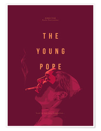 Póster Premium Young Pope