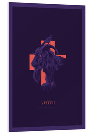 Quadro em PVC  The Witch - Fourteenlab